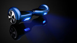 animation hoverboard
