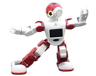 animation course de robots