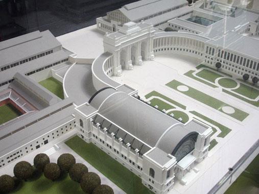 maquette réaliste  Poitiers