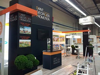 Fabrication stand nimes agence tag standiste design for Agencement de stand