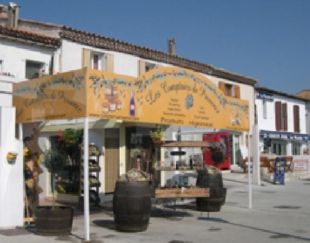 Signaletique Comptoirs de Provence -