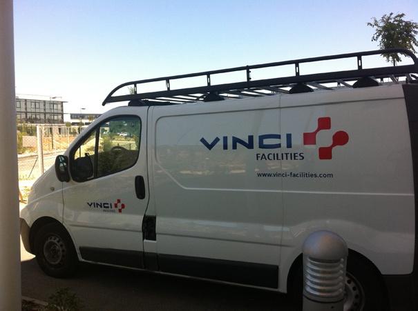 Signalétique Vinci -