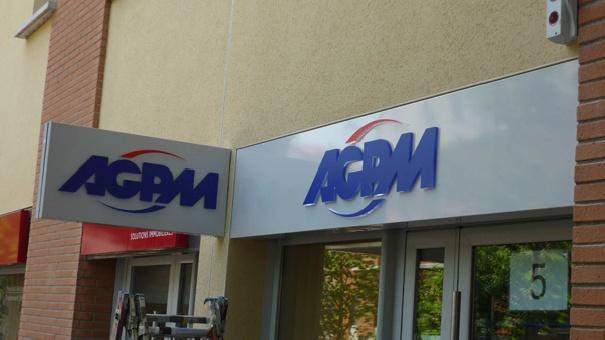 Signalétique AGPM assurances -