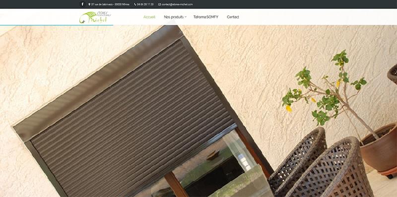 site vitrine catalogue Stores Michel - legende2