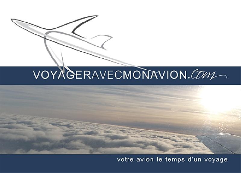 Création de la brochure VOYAGER AVEC MON AVION -