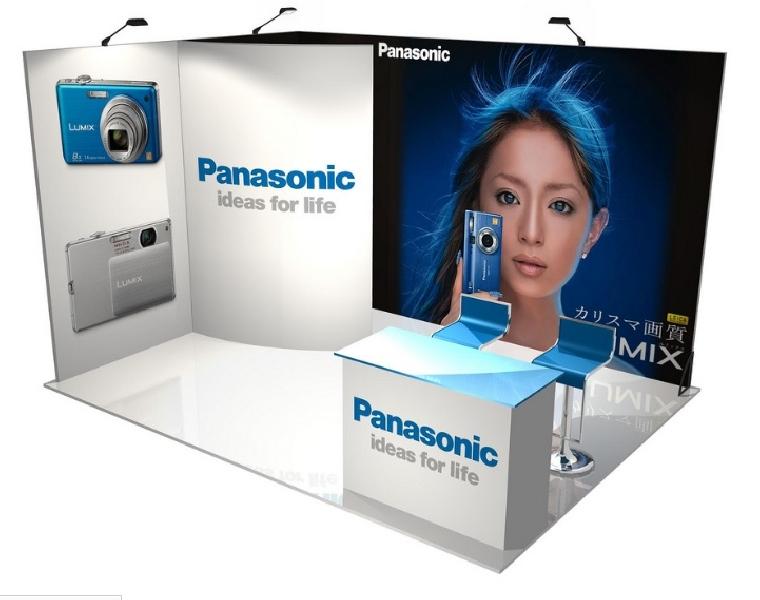 Conception et réalisation stand Panasonic -