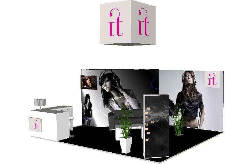 Aménagement de stand et location de mobiliers -
