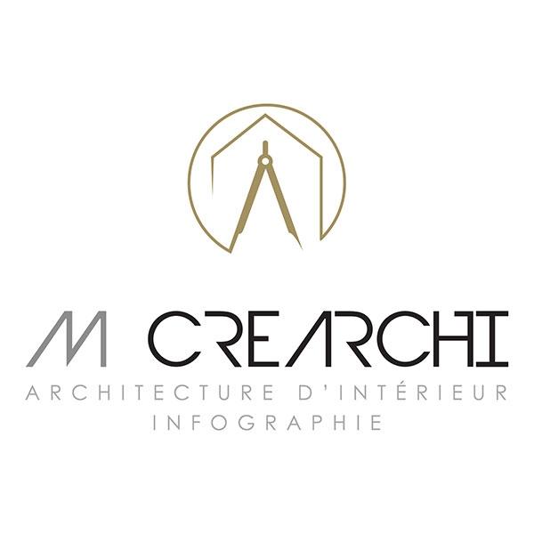 Création du logo M Créarchi -