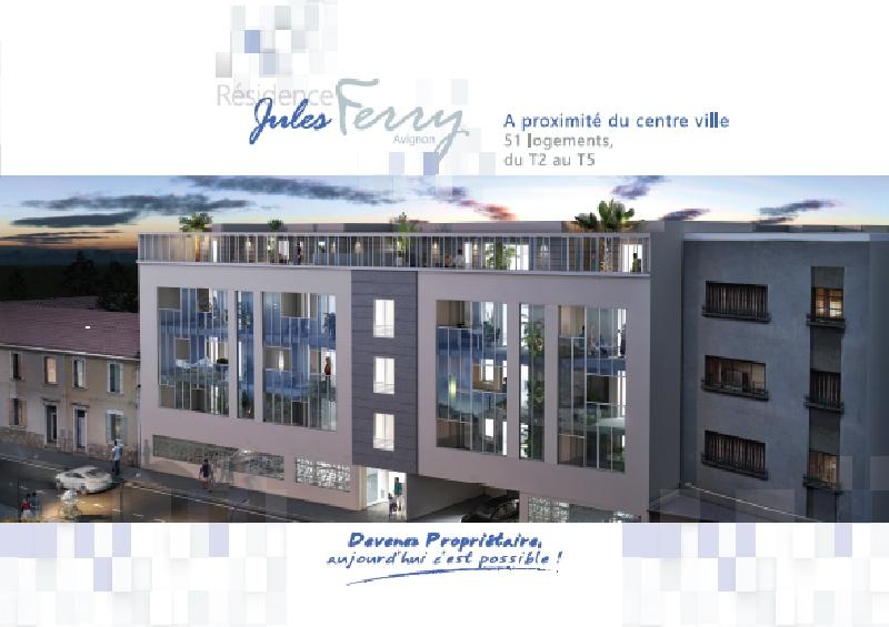 Création de la plaquette immobilière à Avignon -