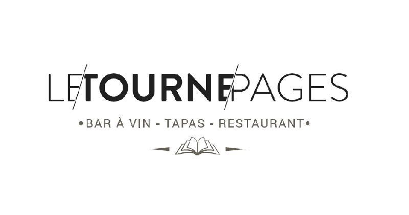 Création du logo Le Tourne Pages -