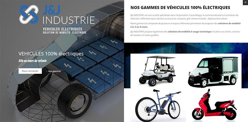 Site temporaire de la société JandJ Industrie -