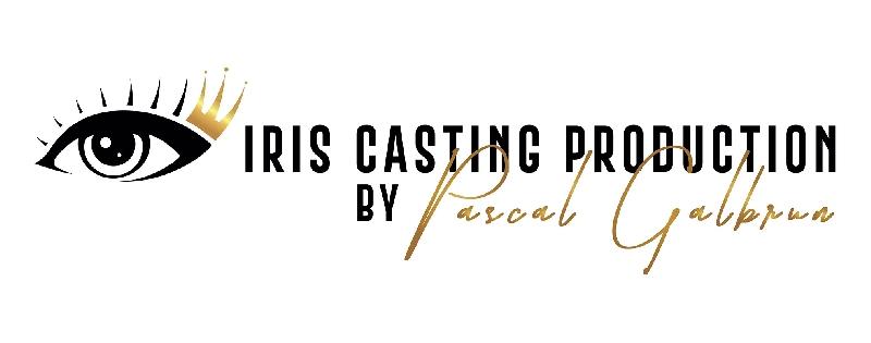 Création du logo de Iris casting production -