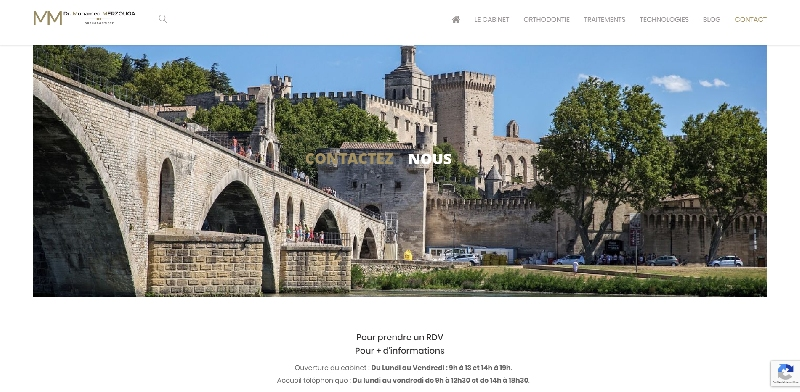 Site vitrine Wordpress CABINET ORTHODONTIE -