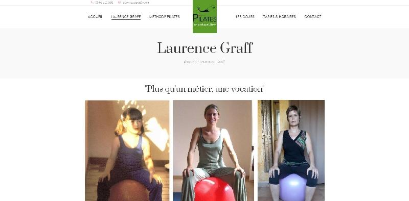 Site vitrine WORDPRESS LAURENCE GRAFF -