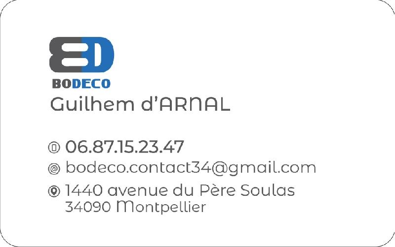 Création du logo BODECO -