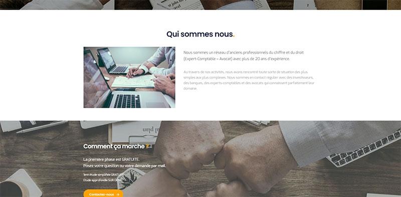 Site vitrine WORDPRESS Assistance Conseil PME -