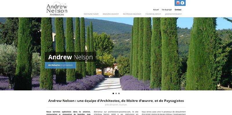 site internet Andrew Nelson - legende2
